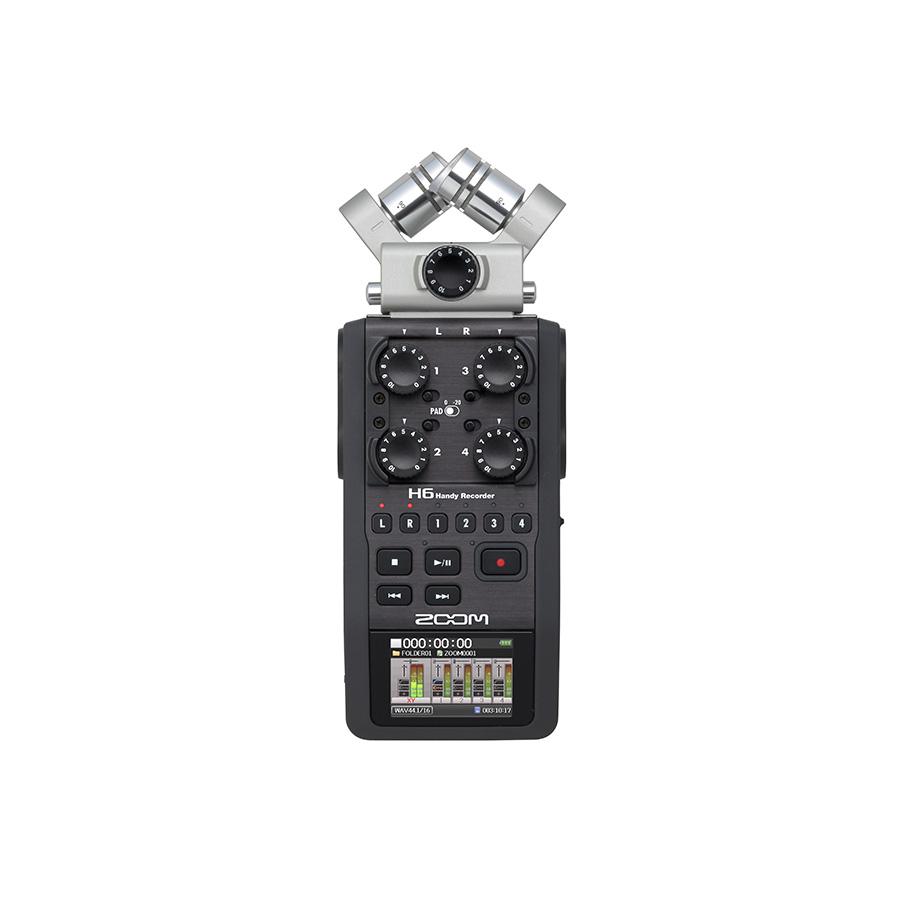 เครื่องอัดเสียงแบบพกพา ยี่ห้อ Zoom รุ่น H6 Recorder