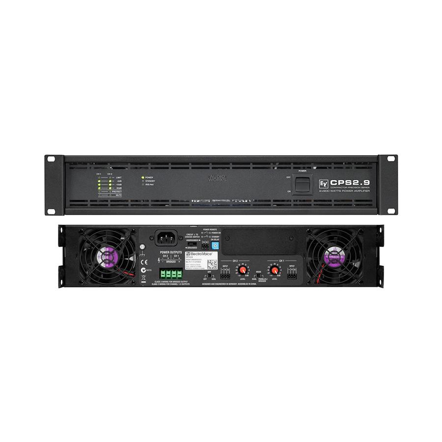 เพาเวอร์แอมป์ ยี่ห้อ EV Electro-Voice รุ่น CPS2.9 Amplifier