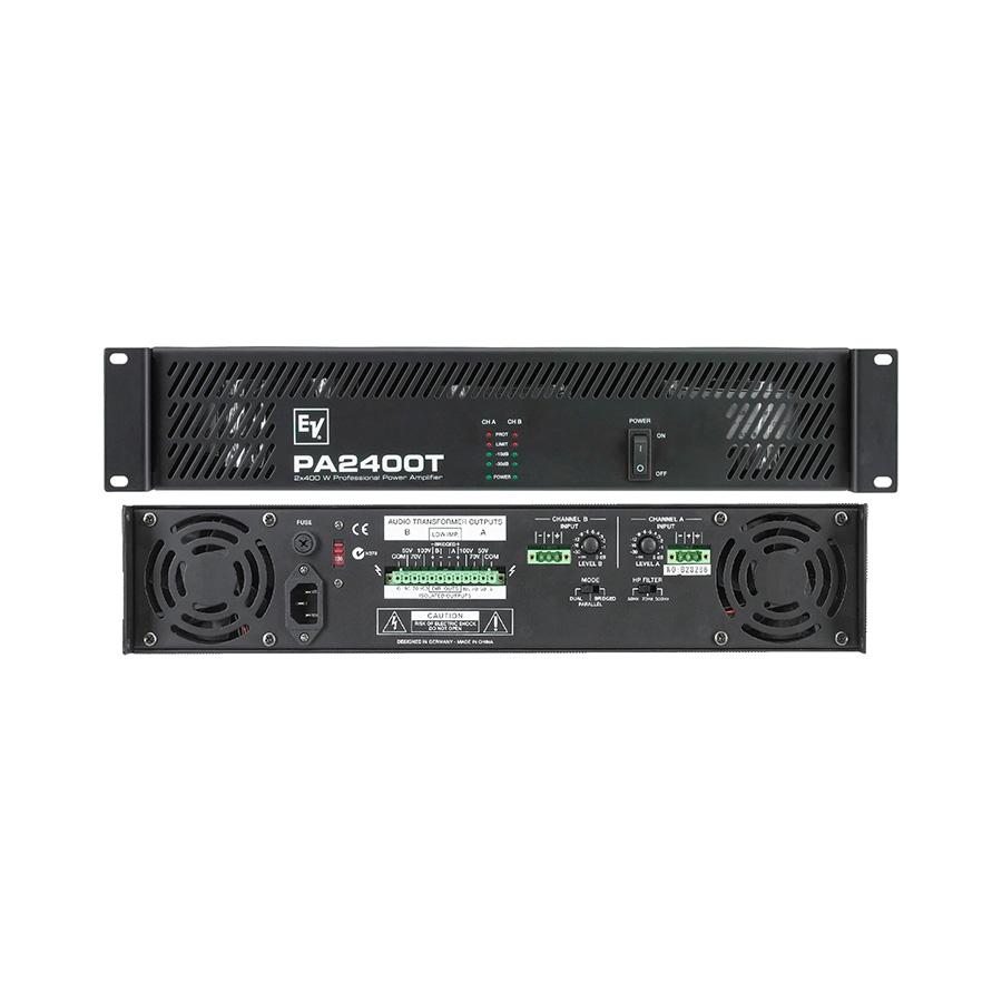 เพาเวอร์แอมป์ ยี่ห้อ EV Electro-Voice รุ่น PA2400T Amplifier
