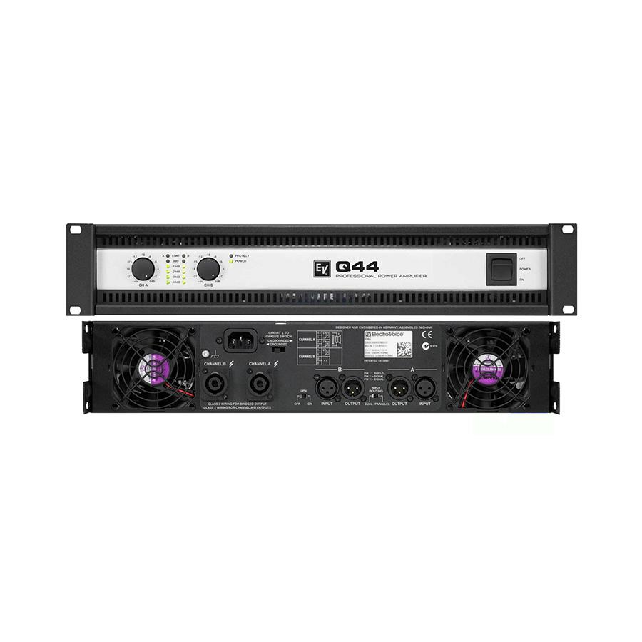 เพาเวอร์แอมป์ ยี่ห้อ EV Electro-Voice รุ่น Q44ii Amplifier