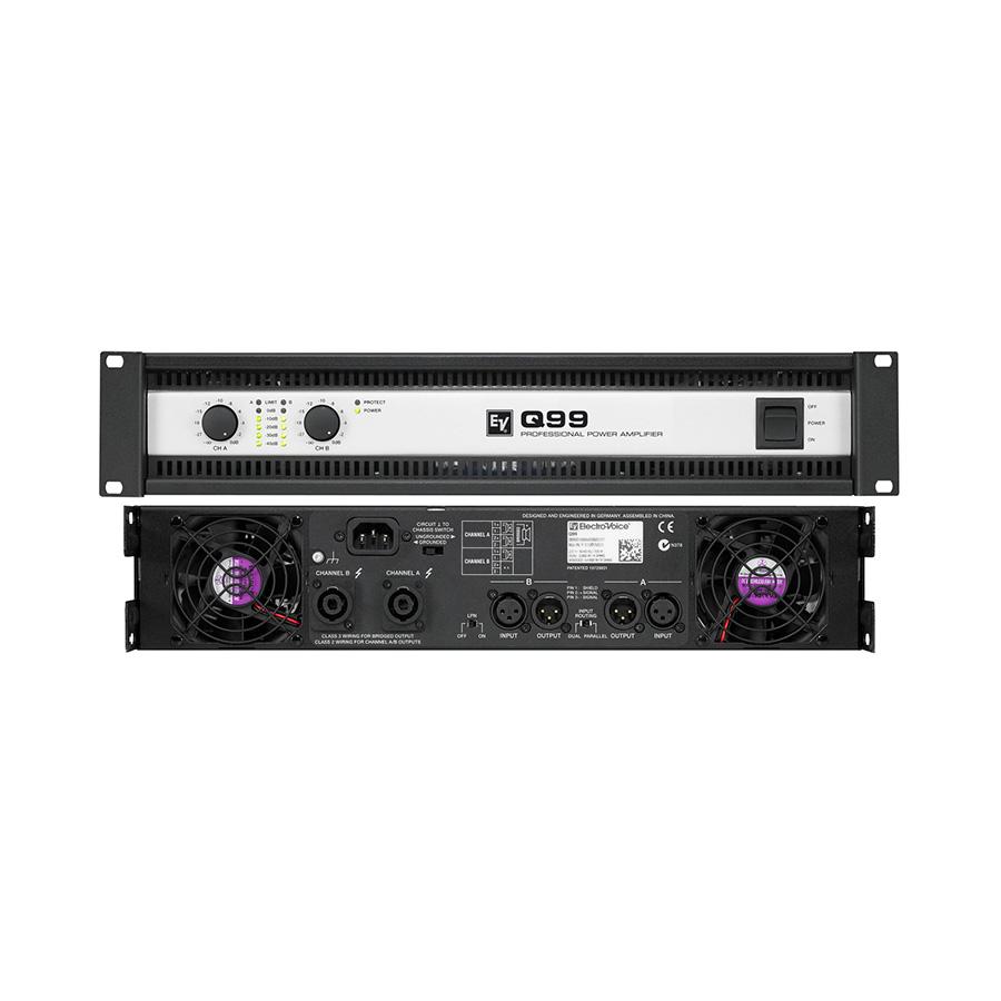 เพาเวอร์แอมป์ ยี่ห้อ EV Electro-Voice รุ่น Q99 Amplifier