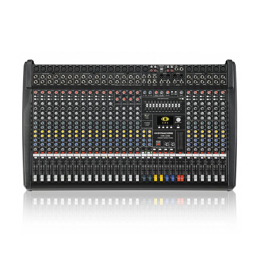 DYNACORD CMS2200-3 compact mixing อนาล็อกมิกเซอร์