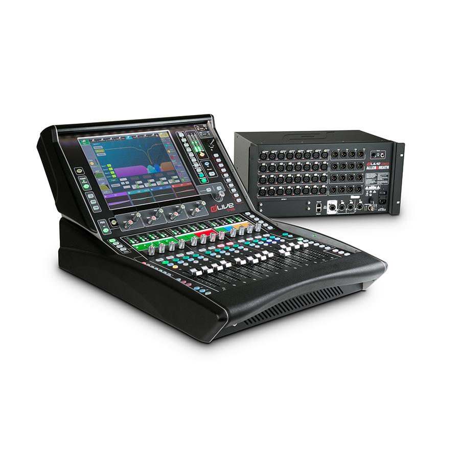 ชุดดิจิตอลมิกเซอร์ ALLEN & HEATH dLIVE C1500+CDM32 Pack