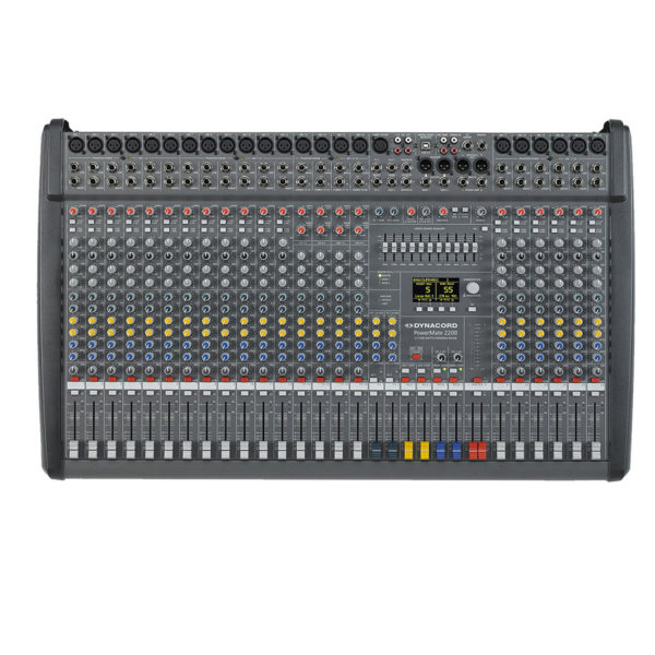DYNACORD PM2200-3 Powered Mixer เพาเวอร์มิกเซอร์