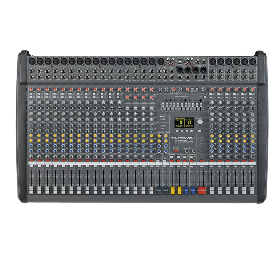 DYNACORD PM2200-3 Powered Mixer เพาเวอร์มิกเซอร์