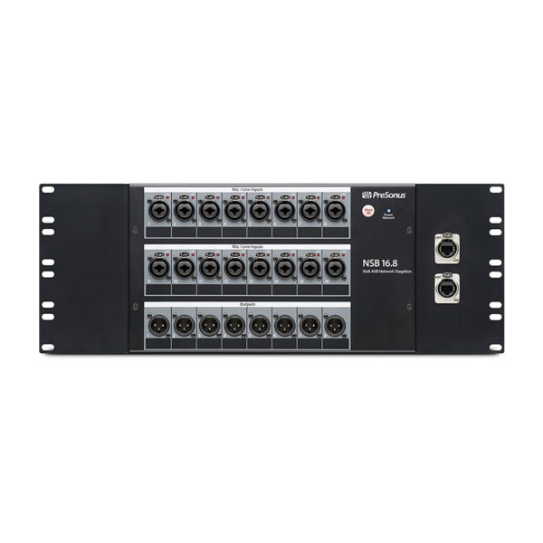 สเตจบ๊อก PreSonus NSB 16.8 AVB Networked Stage Box