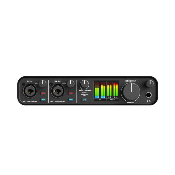 ออดิโออินเตอร์เฟส MOTU M4 4x4 USB Type-C Audio Interface