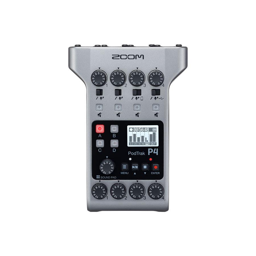 เครื่องอัดเสียง ZOOM POD TRAK P4 Podcast Recording
