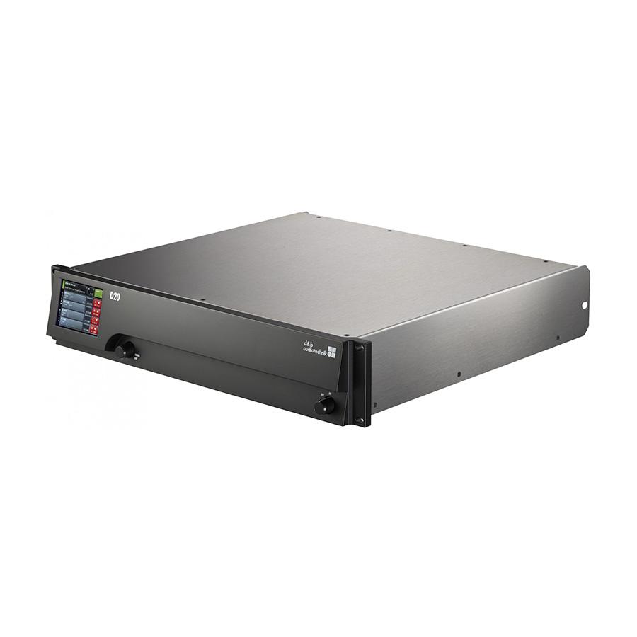 เพาเวอร์แอมป์ d&b audiotechnik D20 Four Channel Amplifier