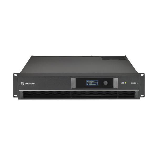 เพาเวอร์แอมป์ Dynacord C3600FDi DSP Power Amplifier 2x1800W