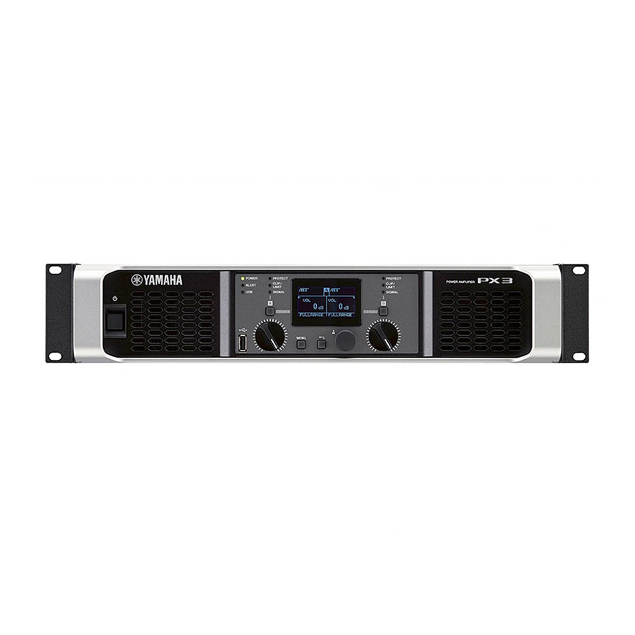 เพาเวอร์แอมป์ YAMAHA PX3 Power Amplifier