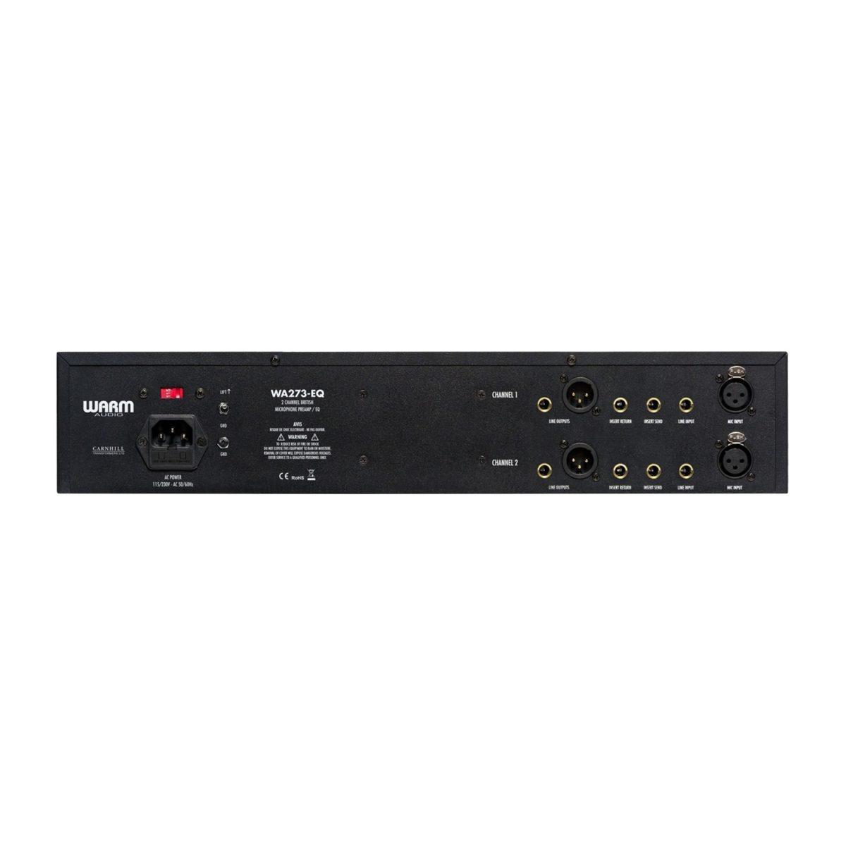 ปรีไมค์พร้อมอีควอไลเซอร์ ยี่ห้อ Warm Audio รุ่น WA273-EQ