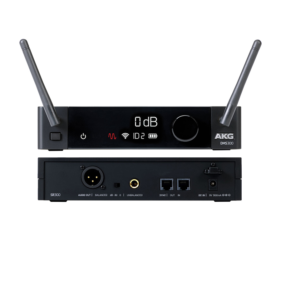 ไวเรสกีตาร์ AKG รุ่น DMS 300 Digital Wireless Instrument Set