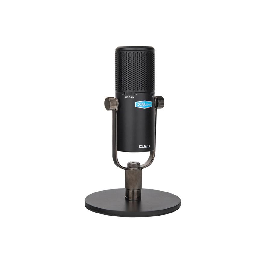 ไมโครโฟน USB บันทึกเสียง Alctron CU28 USB Condenser Microphone