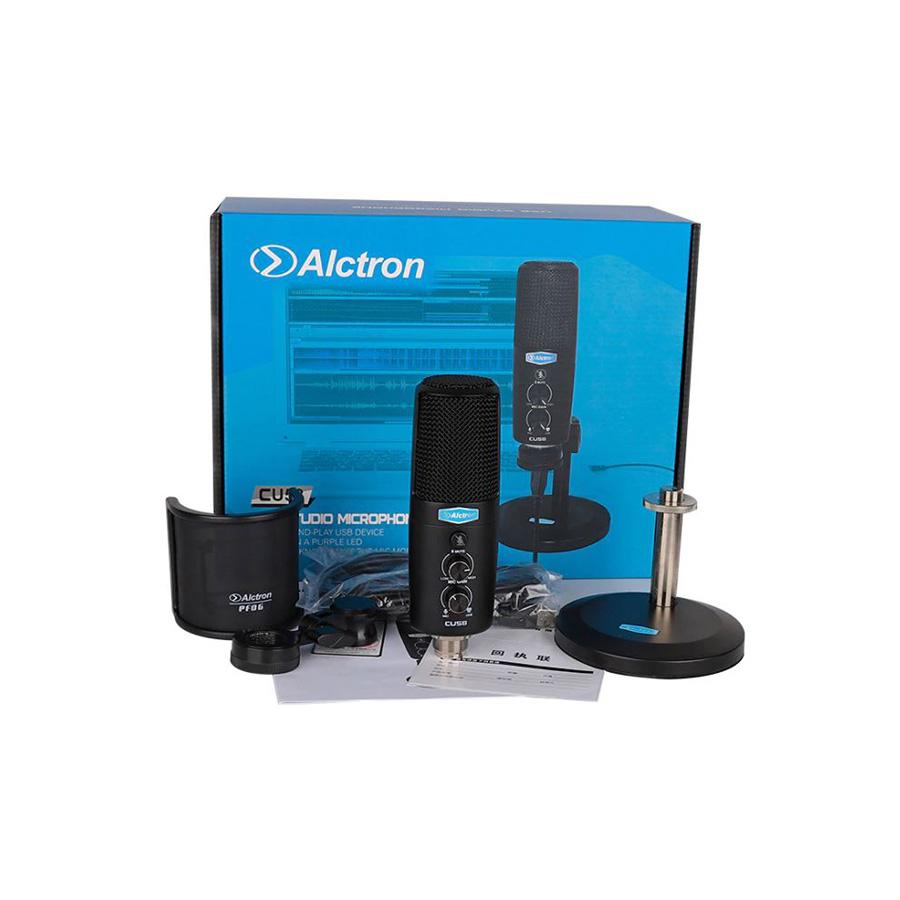ไมค์ USB บันทึกเสียง Alctron CU58 USB Condenser Microphone