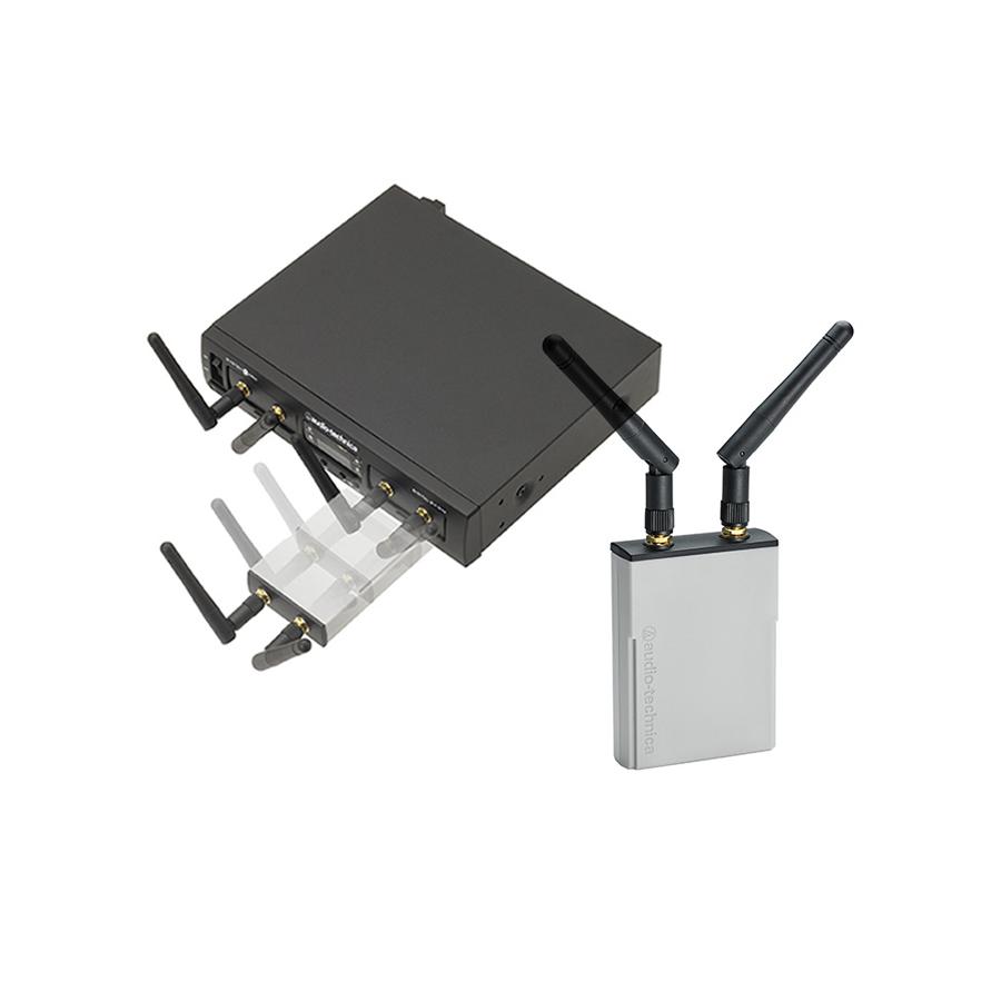 ไมโครโฟนไร้สายแบบคู่ชนิดดิจิตอล Audio Technica ATW1322 System10 Pro (2.4GHz)