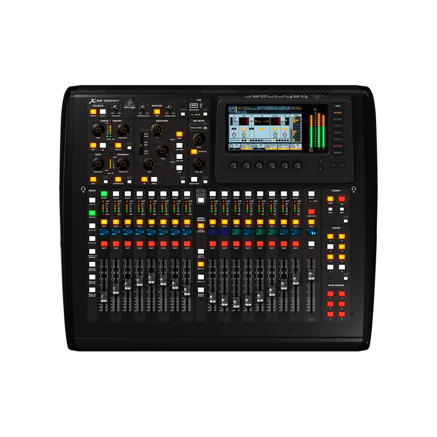 ดิจิตอลมิกเซอร์ BEHRINGER X32 COMPACT DIGITAL MIXER