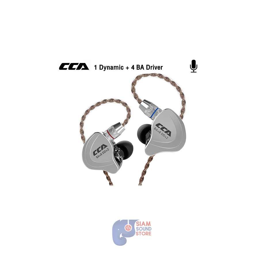 หูฟังอินเอียร์ CCA รุ่น C10 (มีไมค์)