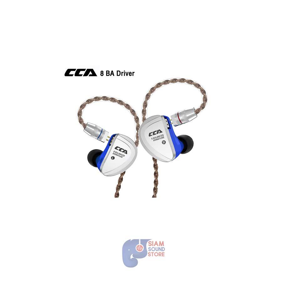 หูฟังอินเอียร์ CCA รุ่น C16 BA 8 Driver