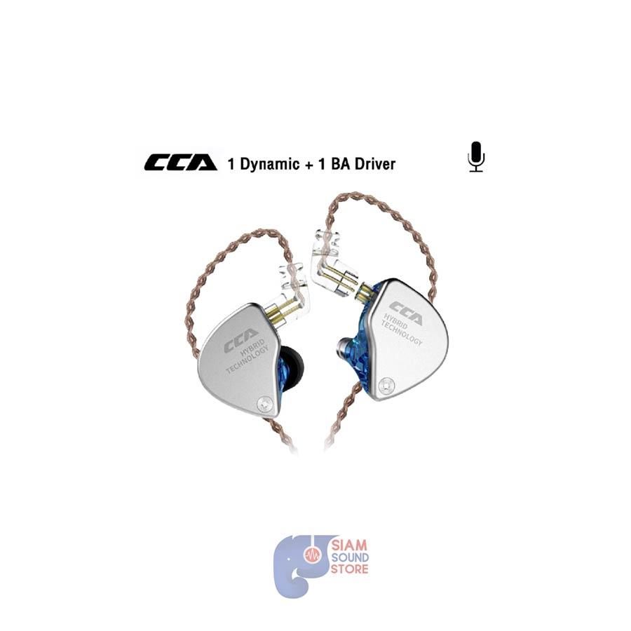 หูฟังอินเอียร์ ยี่ห้อ CCA รุ่น CA4 ( มีไมค์ )