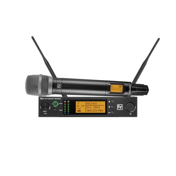ไมโครโฟนไร้สาย ยี่ห้อ EV Electro-Voice รุ่น RE3-RE520