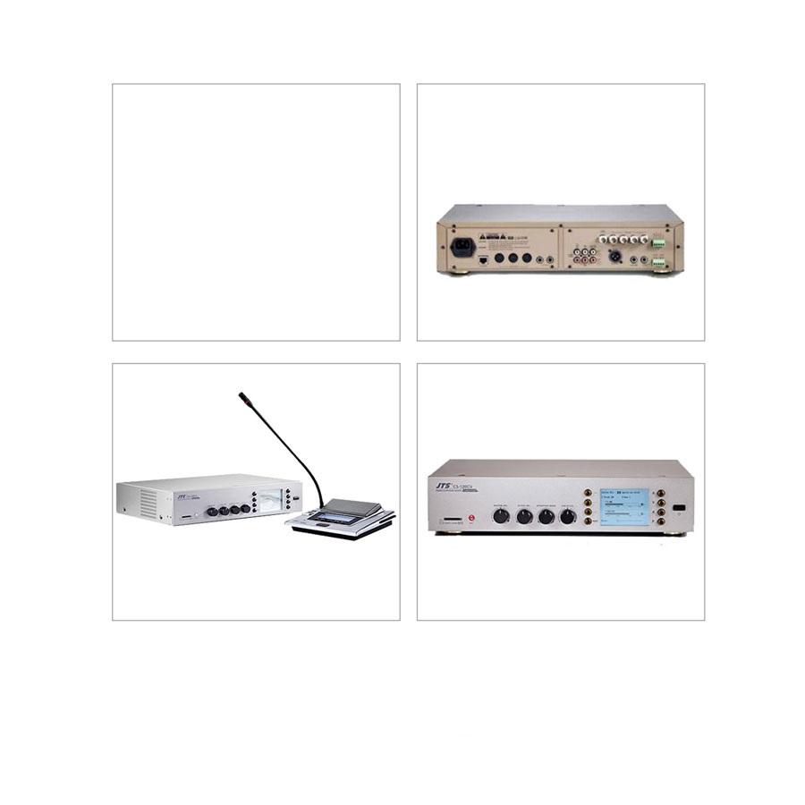 เครื่องควบคุมไมค์ประชุมแบบดิจิตอล JTS CS120CU Digital Conference System Control Unit