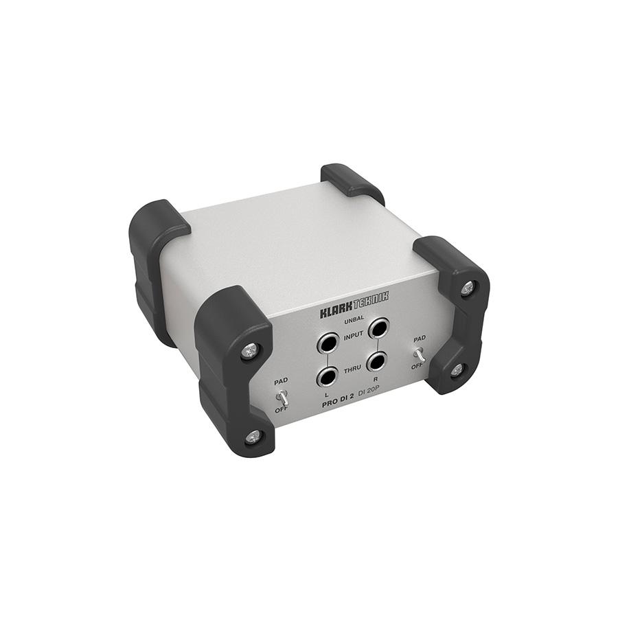 ดีไอบ๊อกซ์ Klark Teknik DI 20P Passive Stereo DI Box