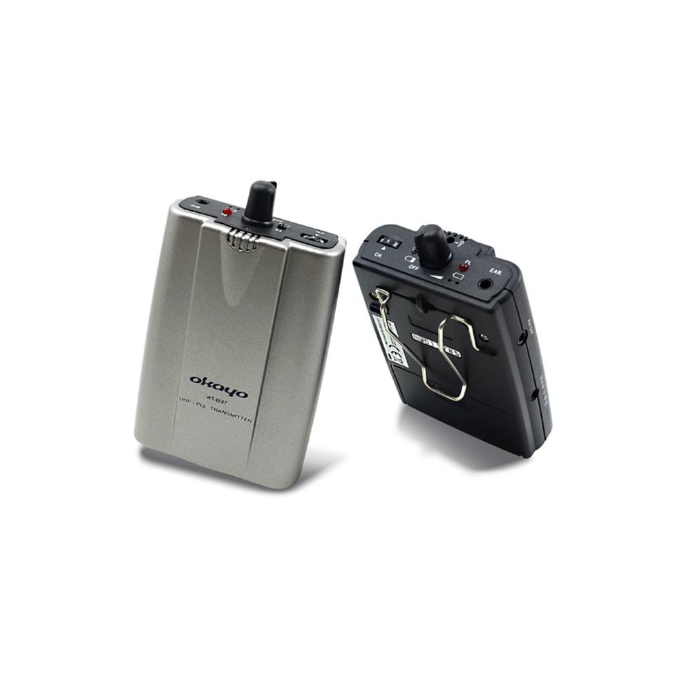 ชุดทัวร์ไกด์เครื่องรับสัญญาน ยี่ห้อ Okayo รุ่น WT808R+ Bodypack
