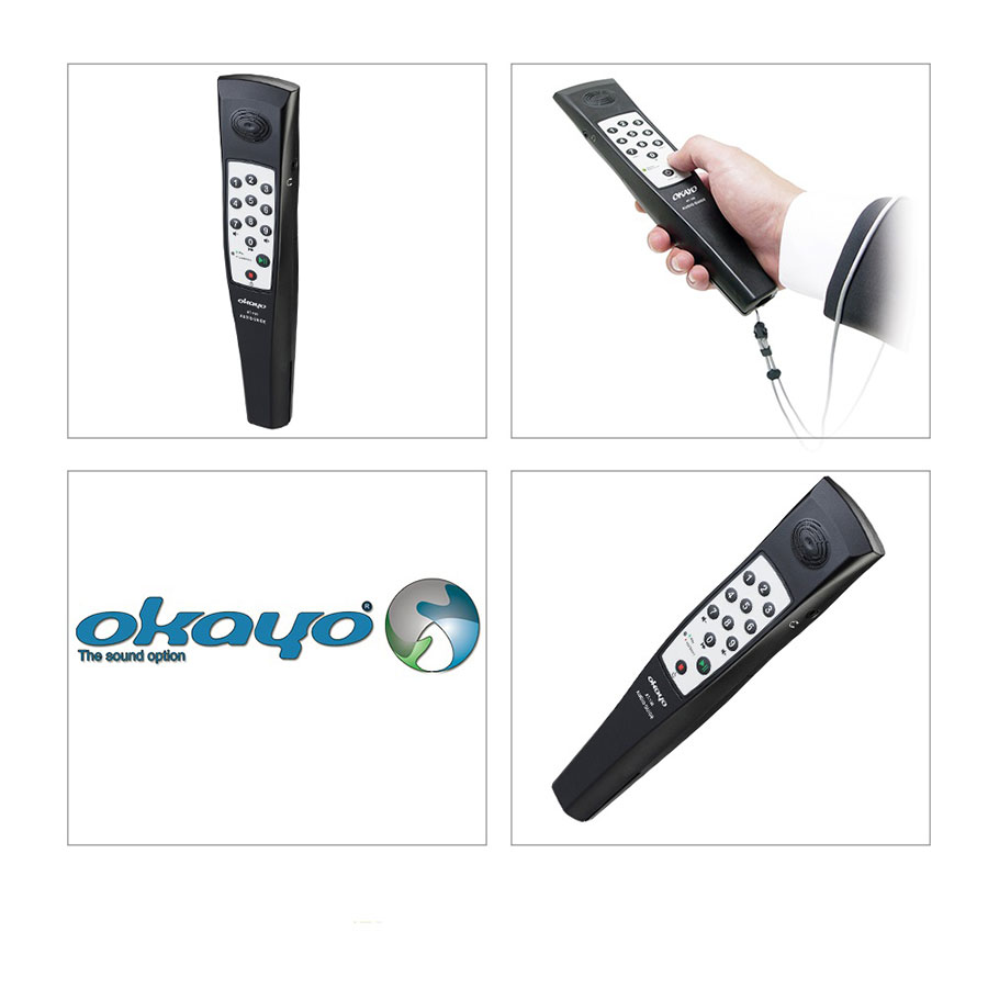ชุดบรรยายไร้สาย ยี่ห้อ Okayo รุ่น AT100 Audio Guide Player