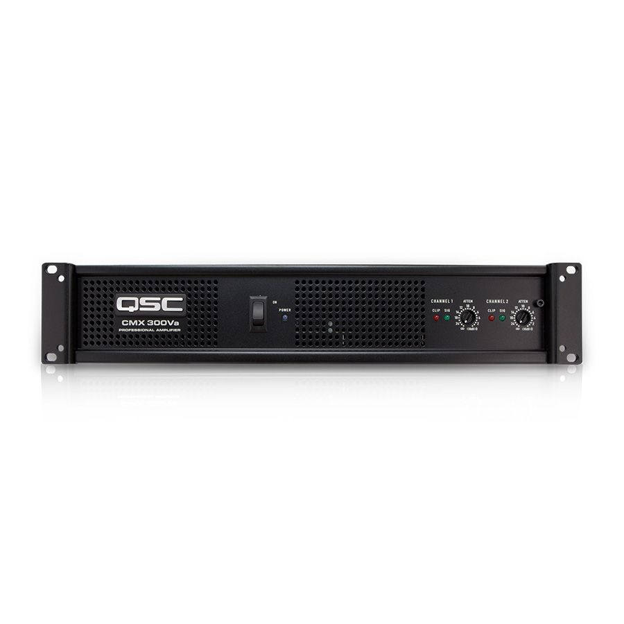 QSC CMX300Va เพาเวอร์แอมป์ 2 แชนแนล 200 วัตต์
