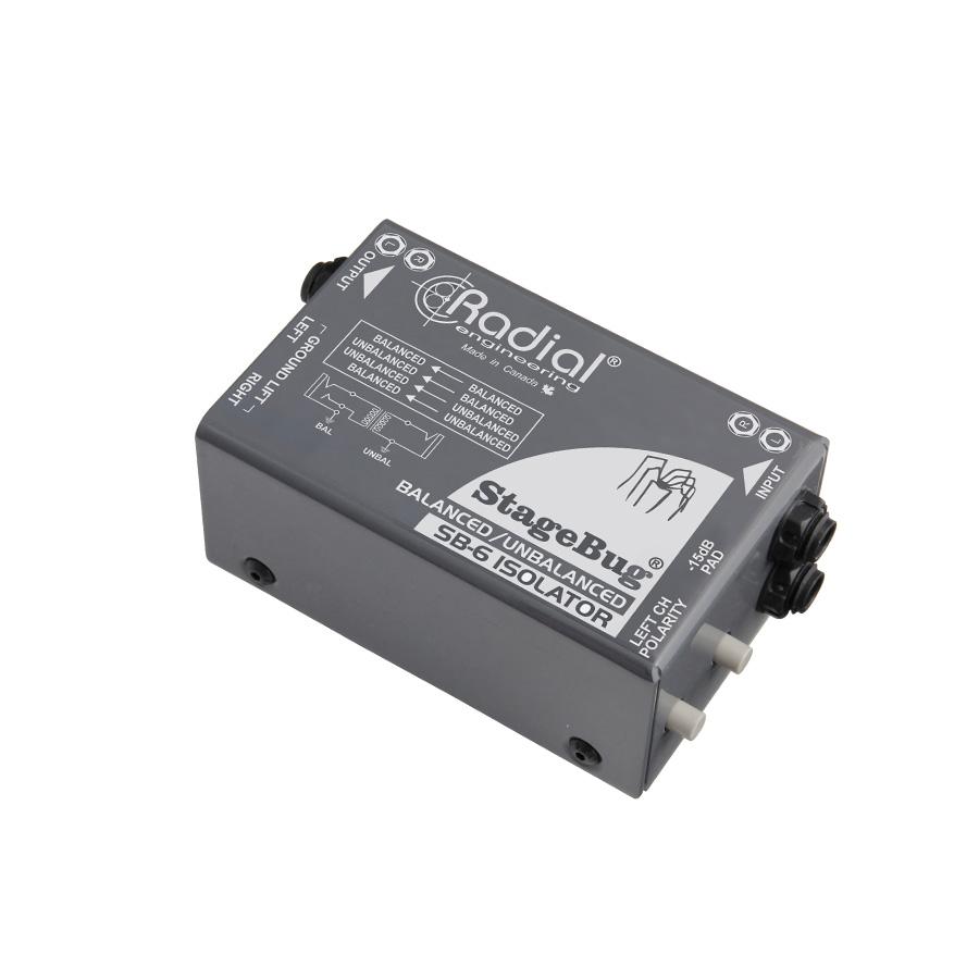 ไดเร็คบ๊อกซ์ Radial StageBug SB6 Isolator