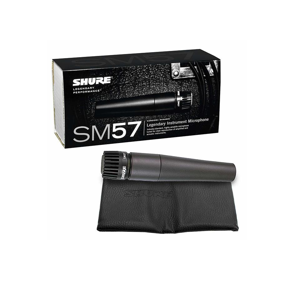 ไมโครโฟน Shure รุ่น SM57 LC Dynamic Instrument Microphone