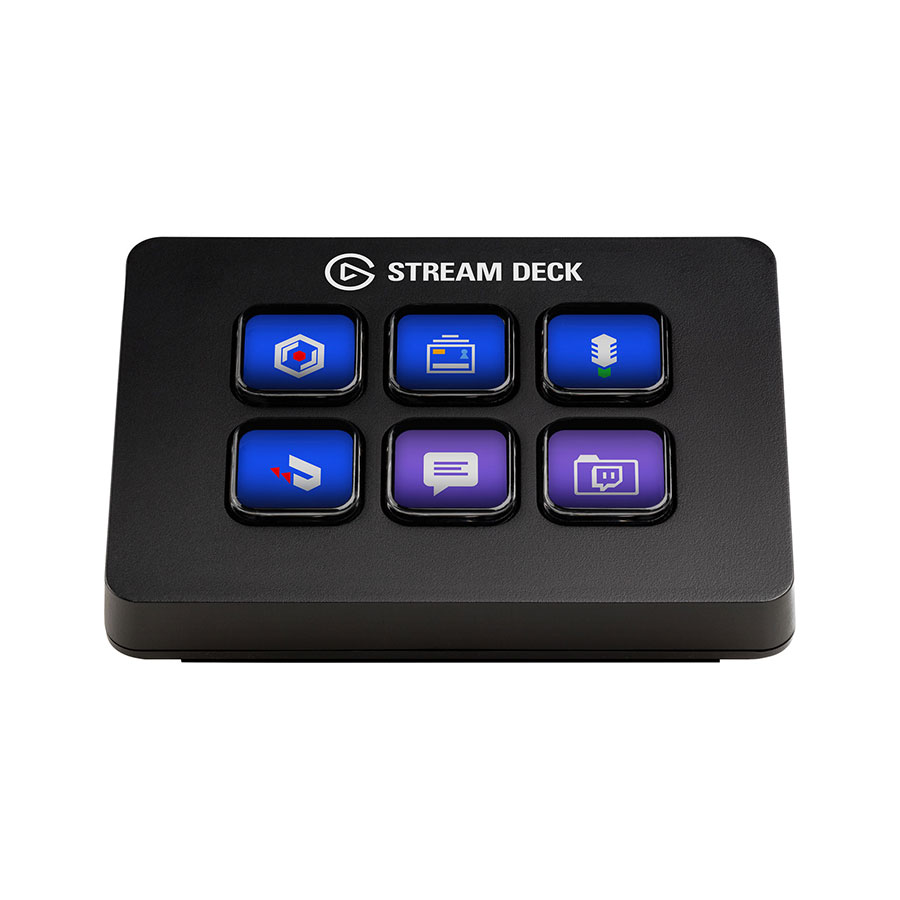 Elgato Stream Deck MINI อุปกรณ์ควบคุมโปรแกรมคอมพิวเตอร์