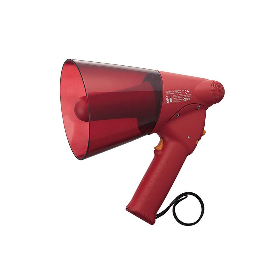 โทรโข่งกันน้ำมีไซเรน TOA ER-1206S Splash-proof Hand Grip Type Megaphones with Siren