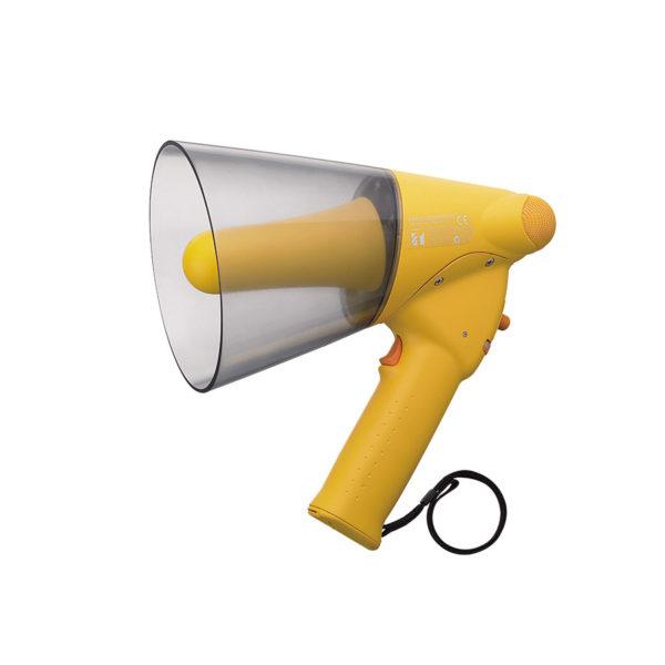 โทรโข่งกันน้ำมีเสียงนกหวีด TOA ER-1206W Splash-proof Hand Grip Type Megaphones with Whistle