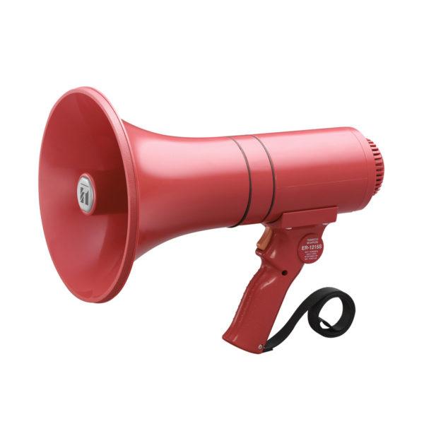 โทรโข่งแบบมือถือมีเสียงไซเรน TOA ER-1215S Hand Grip Type Megaphone with Siren