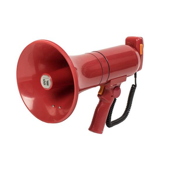 โทรโข่งแบบมือถือมีเสียงไซเรน TOA ER-3215S Hand Grip Type Megaphone with Siren