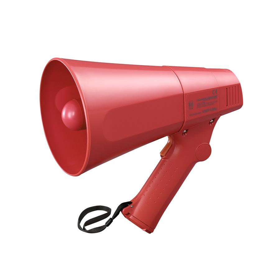 โทรโข่งแบบมือถือมีเสียงไซเรน TOA ER-520S Hand Grip Type Megaphone with Siren