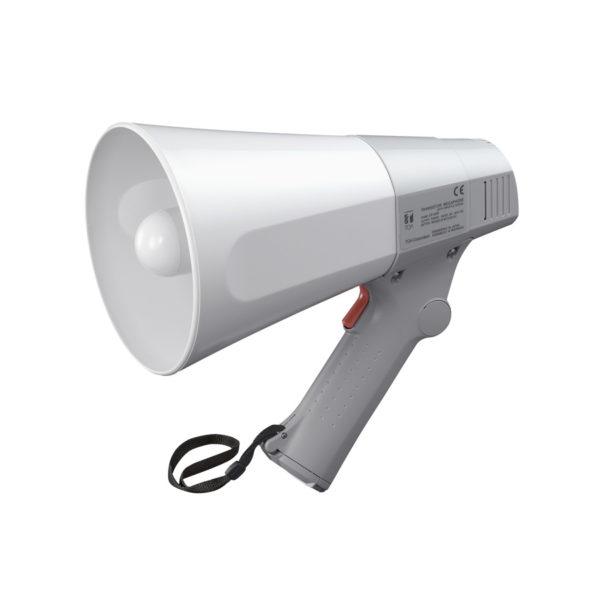 โทรโข่งแบบมือถือมีเสียงนกหวีด TOA ER-520W Hand Grip Type Megaphone with Whistle