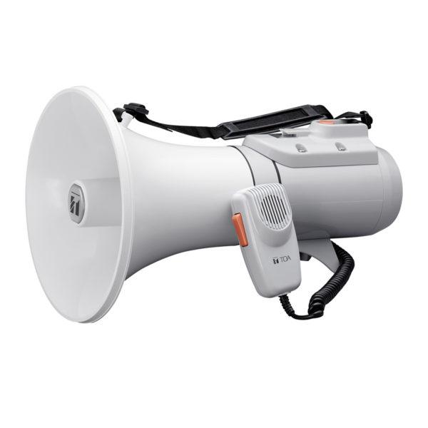 โทรโข่งแบบสายสะพายมีเสียงนกหวีด TOA ER-2215 Shoulder Type Megaphone with Whistle
