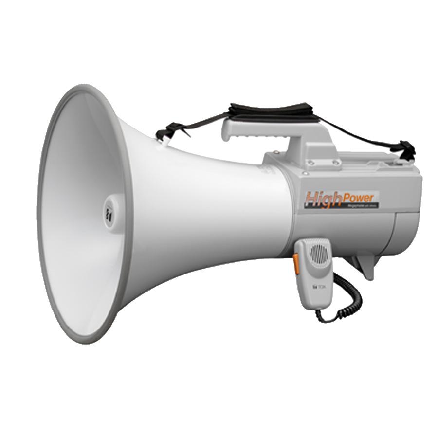 โทรโข่งแบบสายสะพายมีเสียงนกหวีด TOA ER-2230W Shoulder Type Megaphone with Whistle