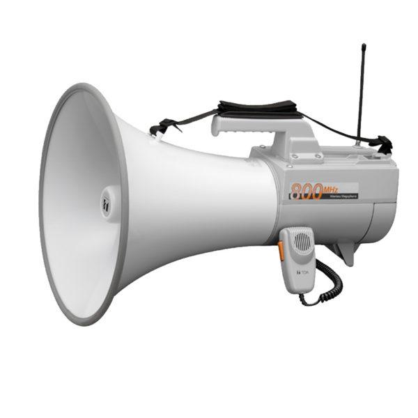 โทรโข่งแบบสายสะพายมีเสียงนกหวีด TOA ER-2930W Shoulder Type Megaphone with Whistle