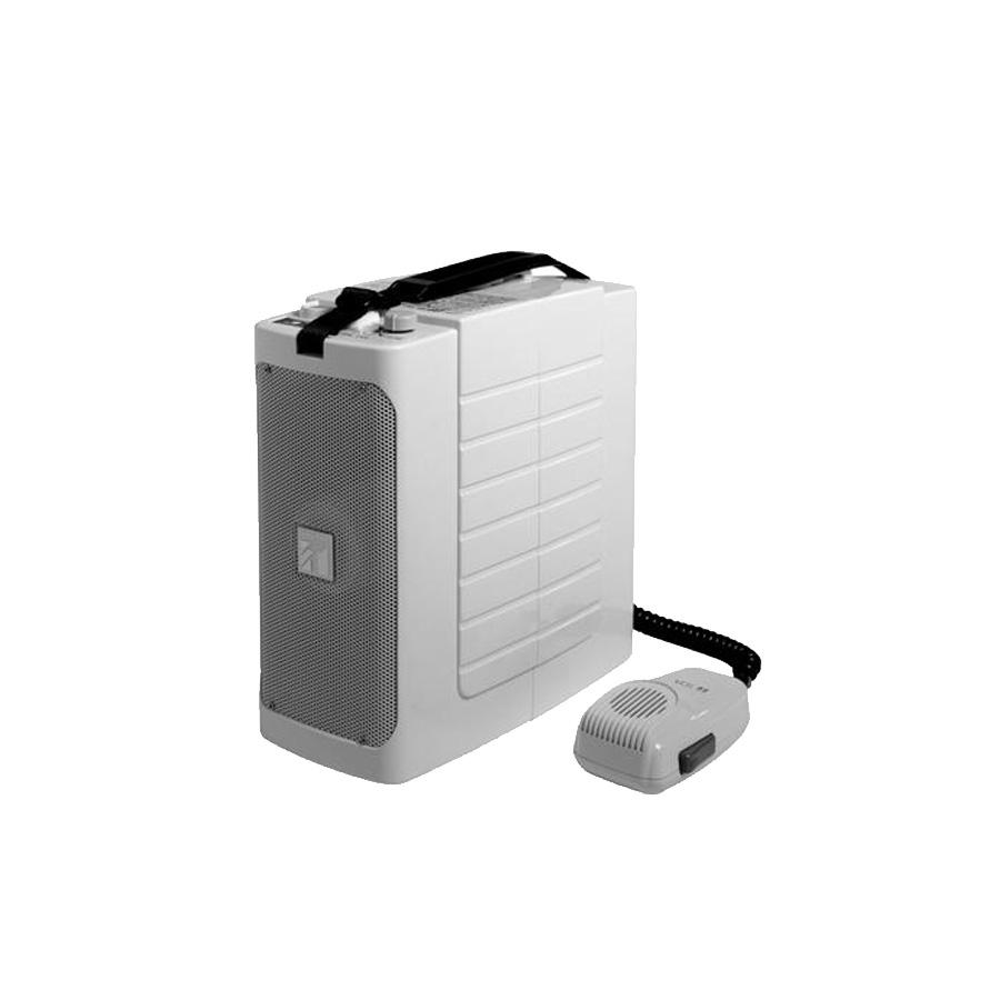 โทรโข่งแบบพกพามีเสียงนกหวีด TOA ER-604W Shoulder Megaphone with Whistle
