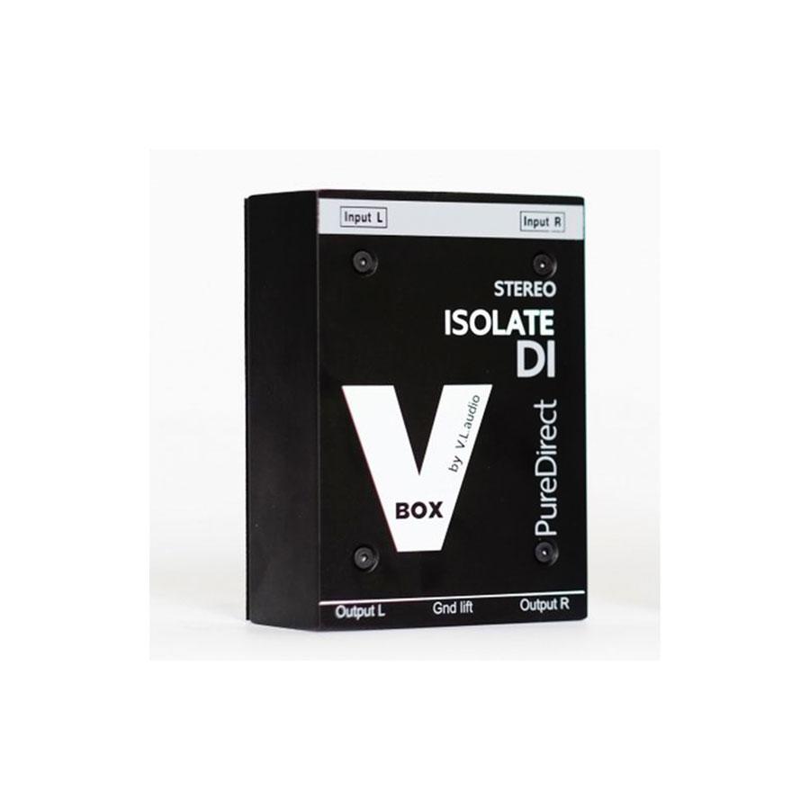 ไอโซเลทบ๊อกซ์ ยี่ห้อ VL audio รุ่น VBOX ISOLATE STEREO