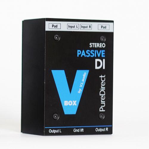 ไดเร็กบ๊อก ยี่ห้อ VL audio รุ่น VBOX STEREO PASSIVE DI