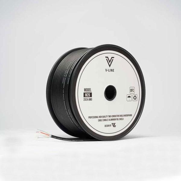 สายสัญญาณ VLine M26 แบบ Balance ทำให้ได้เสียงที่คุณภาพดี
