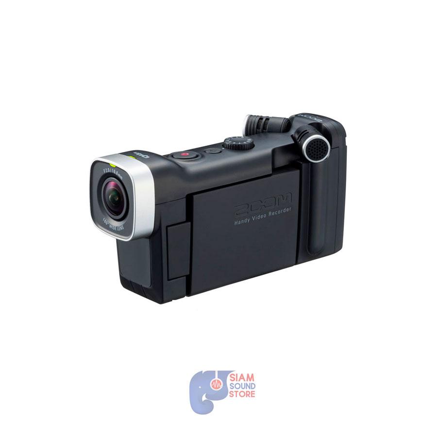กล้องวีดีโอสำหรับบันทึกภาพและเสียง ยี่ห้อ Zoom รุ่น Q4N