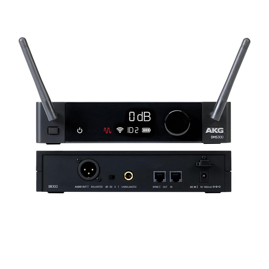 ไมค์โครโฟนไร้สาย ยี่ห้อ AKG รุ่น DMS 300 HandHeld