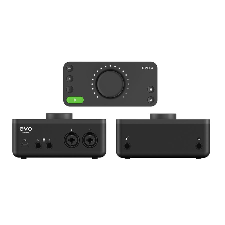 ออดิโออินเตอร์เฟสแบบ USB Audient EVO4