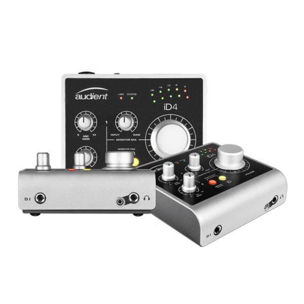 ออโออินเตอร์เฟส ยี่ห้อ Audient รุ่น iD4 USB Audio Interface
